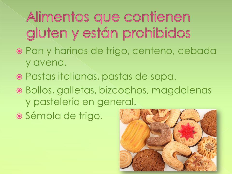 Tania adame paola guarnero mayrel mart n s nchez ppt descargar - Lista alimentos con gluten ...