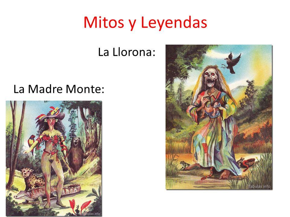 Mitos y Leyendas La Llorona: La Madre Monte: