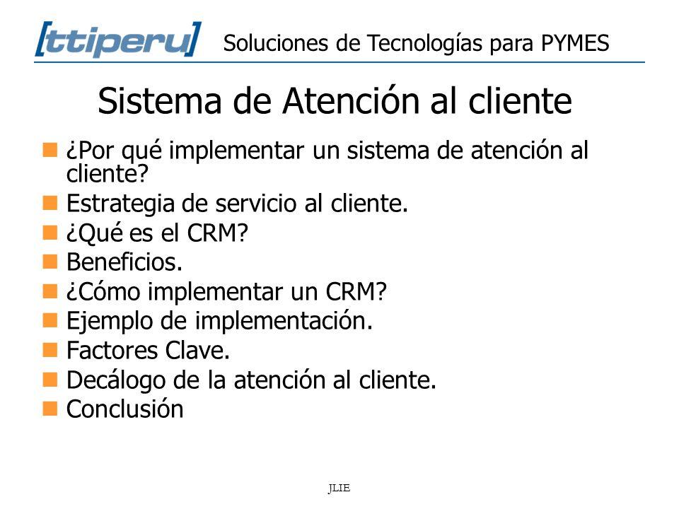 c u00f3mo implementar un sistema de atenci u00f3n al cliente