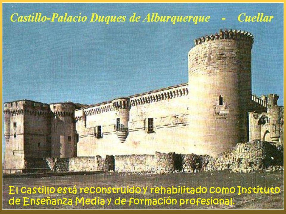 El castillo está reconstruido y rehabilitado como Instituto de Enseñanza Media y de formación profesional.