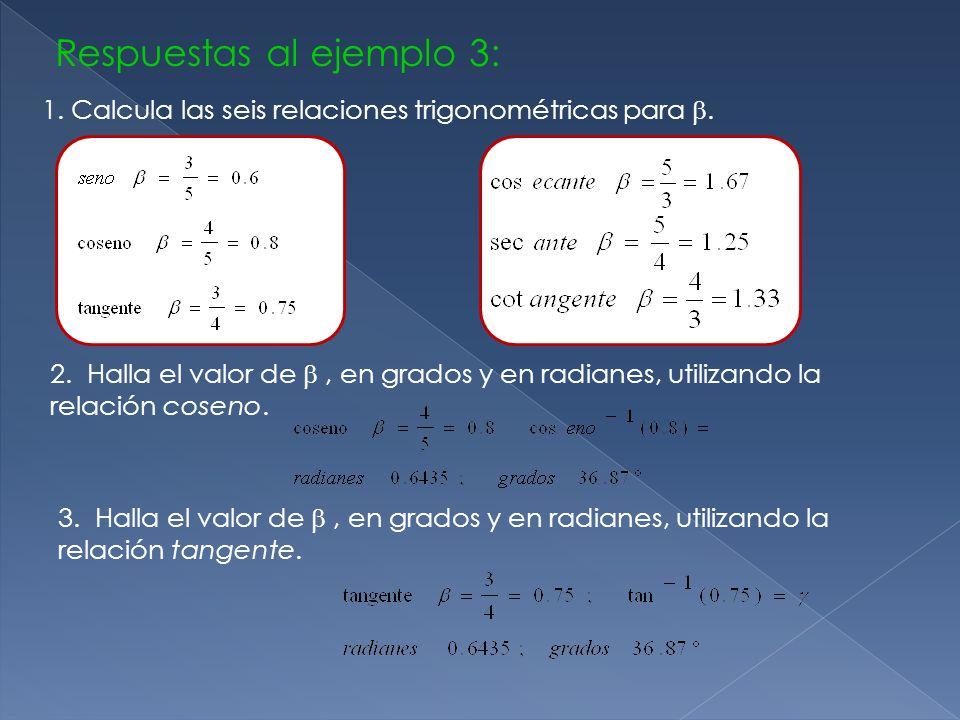 Respuestas al ejemplo 3: