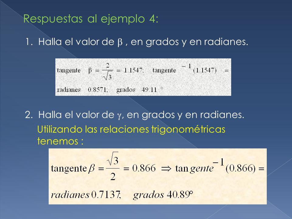 Respuestas al ejemplo 4: