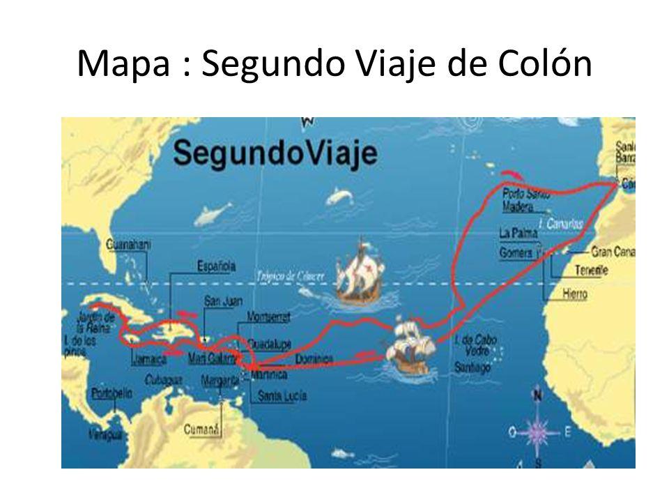 Segundo viaje de cristobal colon pictures to pin on for Cuarto viaje de colon