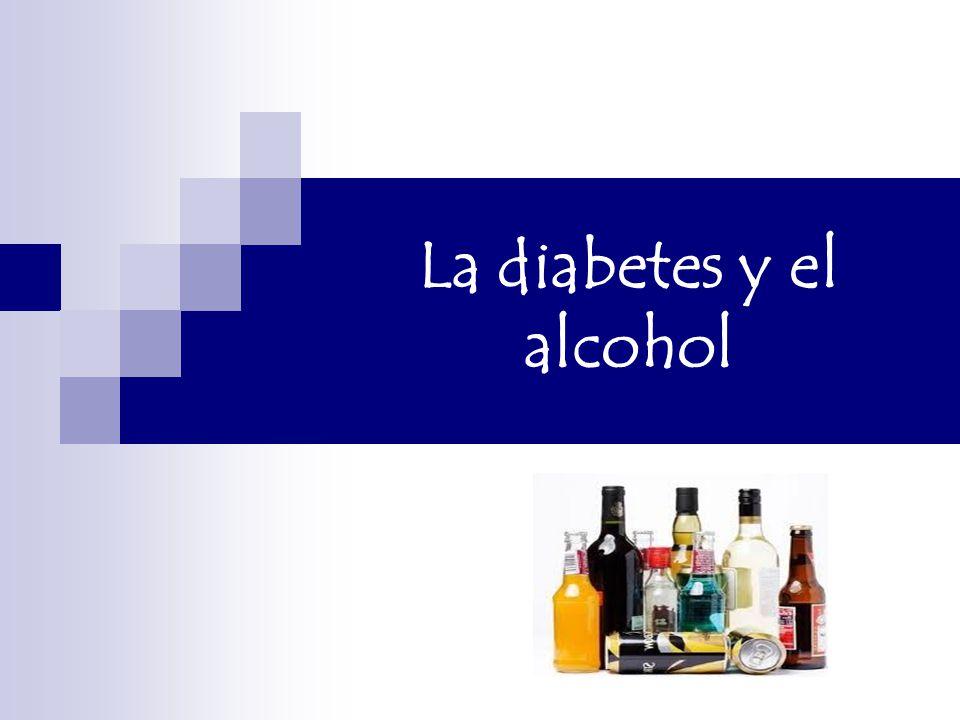 diabetes 2 en alcohol
