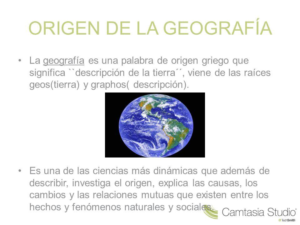 Origen de la geograf a la geograf a es una palabra de for De que lengua proviene la palabra jardin