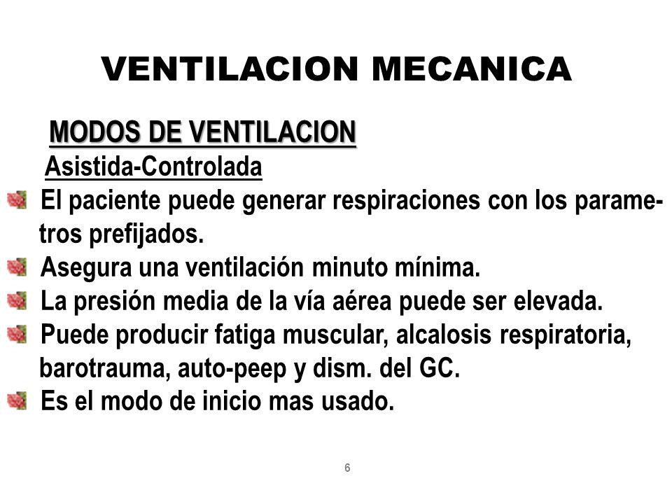 Ventilacion mecanica sensibilidad ppt video online descargar - Ventilacion mecanica controlada ...