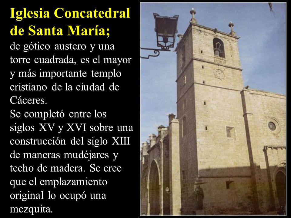 Iglesia Concatedral de Santa María;
