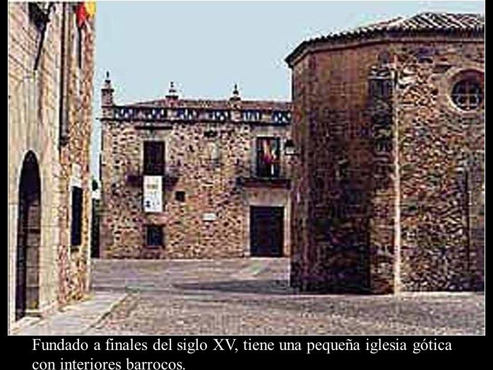 Convento de San Pablo Fundado a finales del siglo XV, tiene una pequeña iglesia gótica con interiores barrocos.