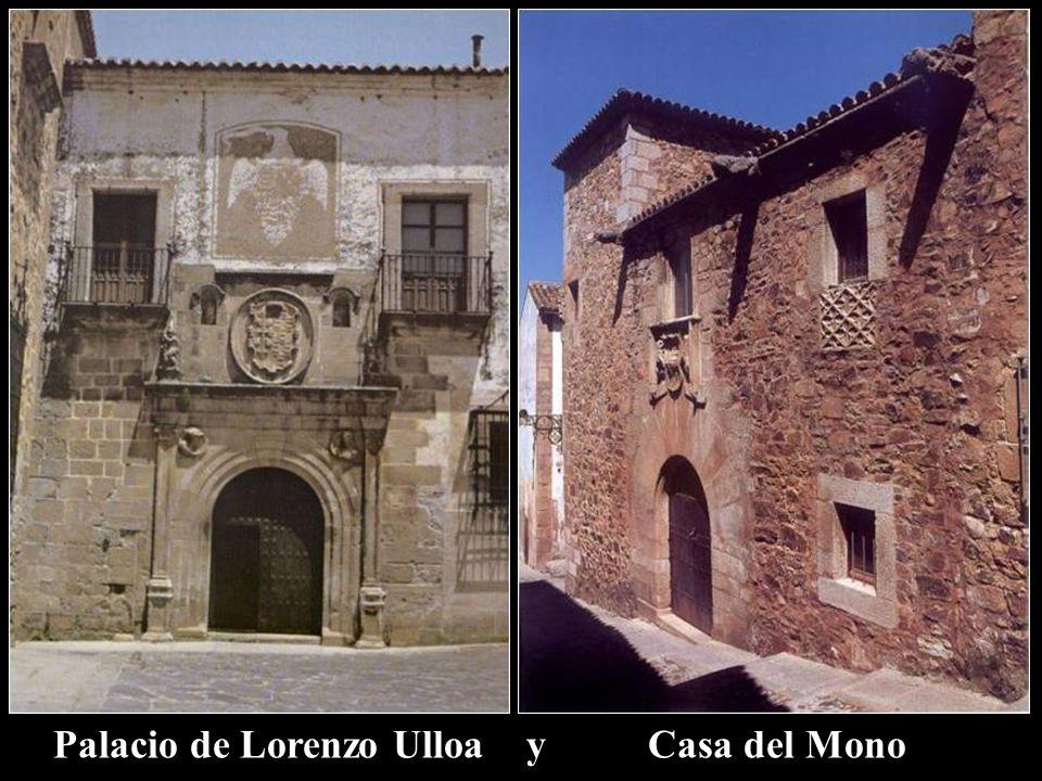 Palacio de Lorenzo Ulloa y Casa del Mono