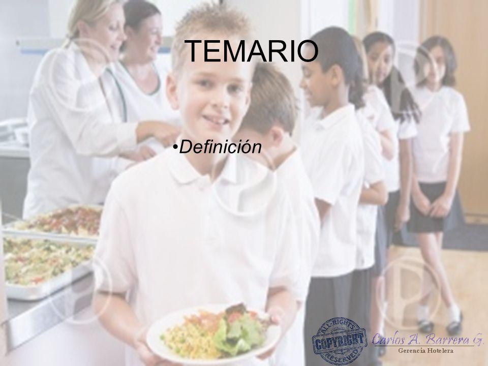 TEMARIO Definición