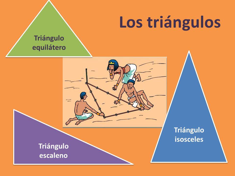 Los triángulos Triángulo equilátero Triángulo isosceles