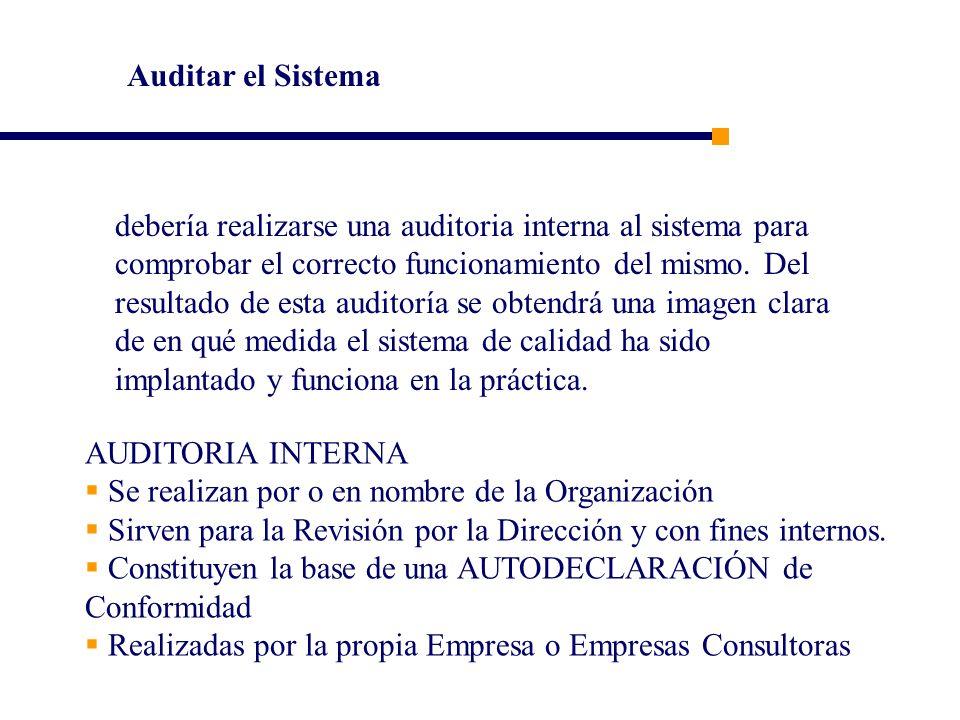 Auditar el Sistema