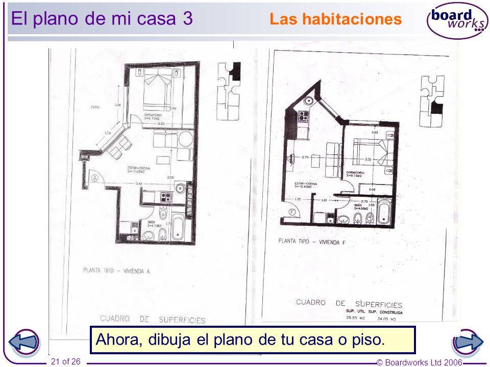 Ks3 spanish year 7 en casa part 1 unidad ppt descargar for Planos para mi casa