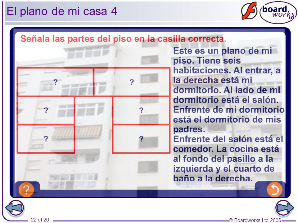 Ks3 spanish year 7 en casa part 1 unidad ppt descargar - Plano de mi casa ...