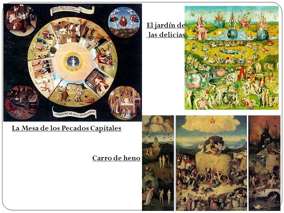 15 pintores 15 pintores giotto fue uno de los primeros - La mesa de los pecados capitales ...