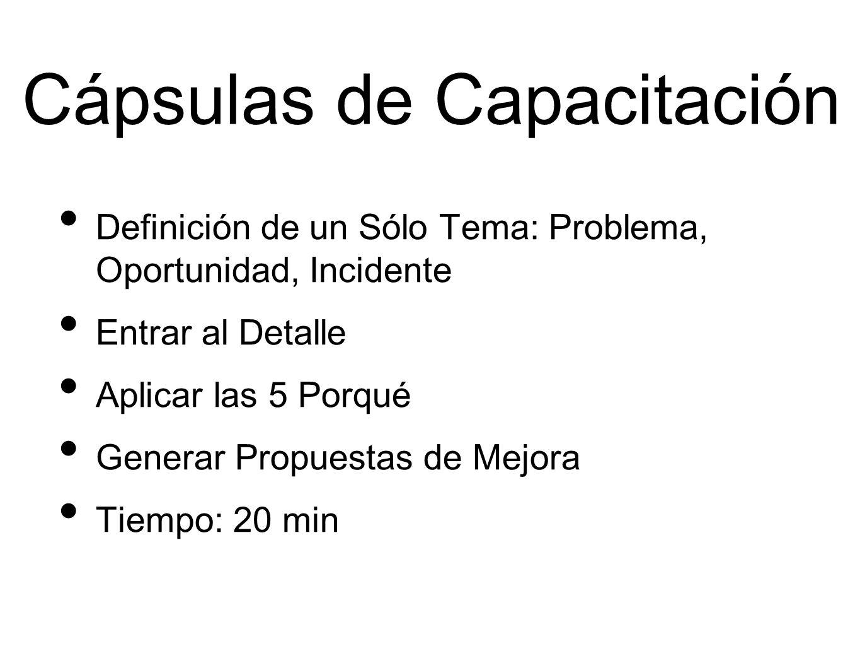Cápsulas de Capacitación