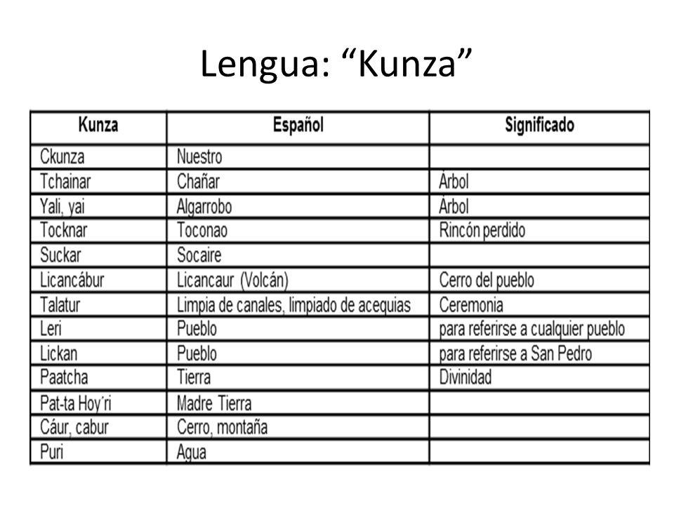 Lengua: Kunza