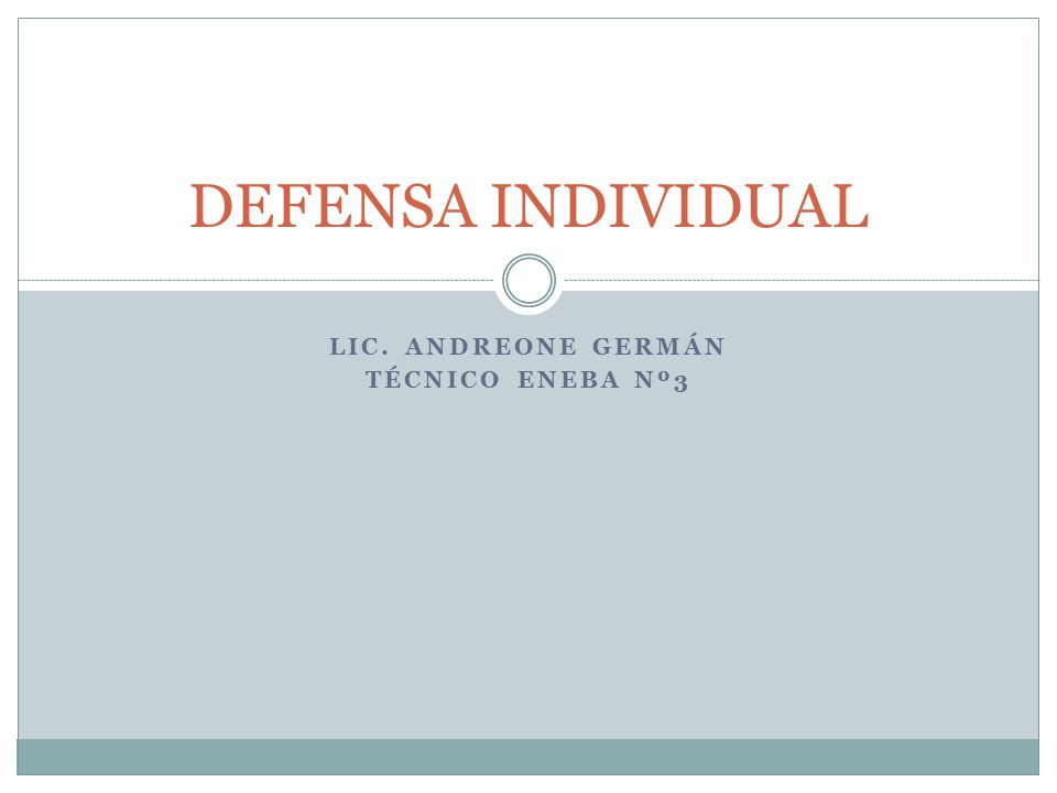 Lic. Andreone Germán Técnico Eneba Nº3