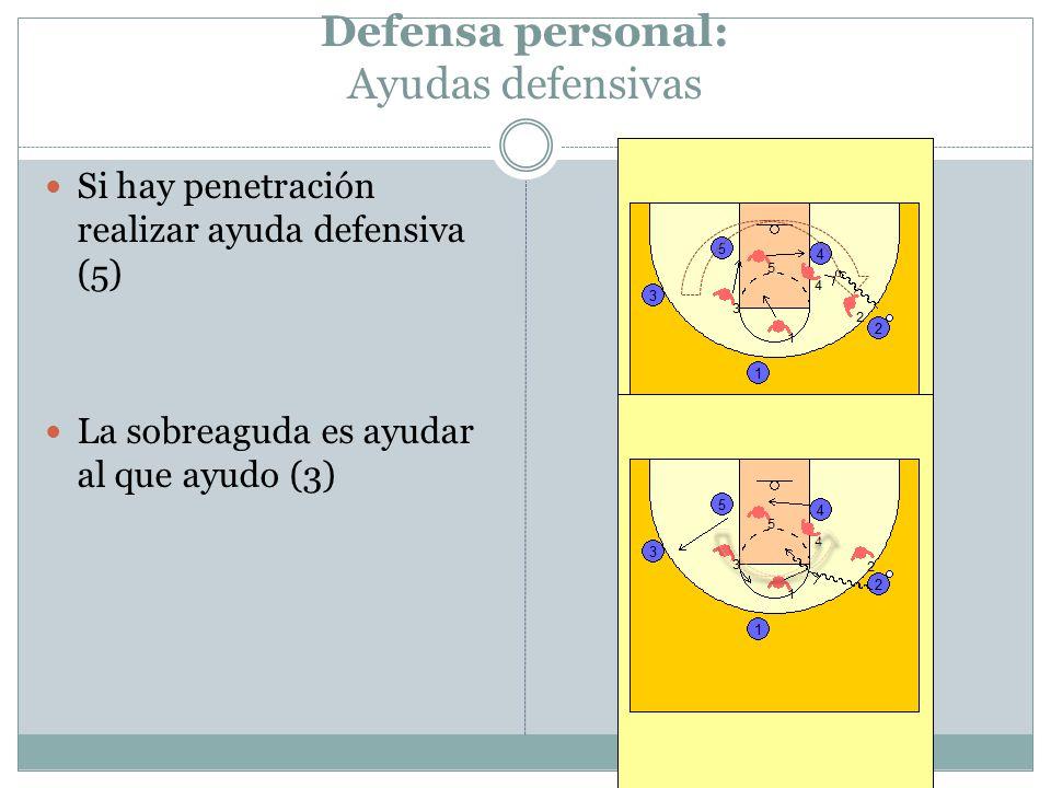 Defensa personal: Ayudas defensivas