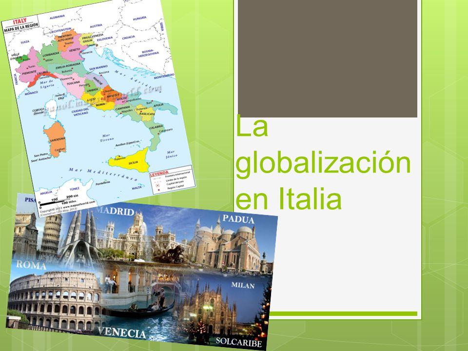 La globalización en Italia