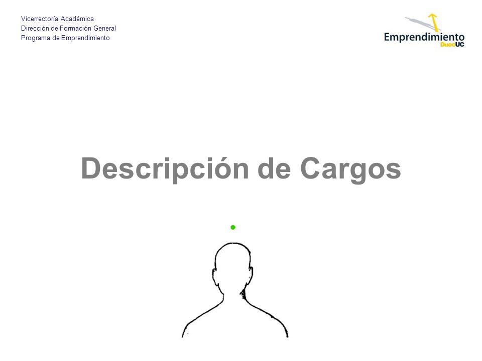 Descripción de Cargos
