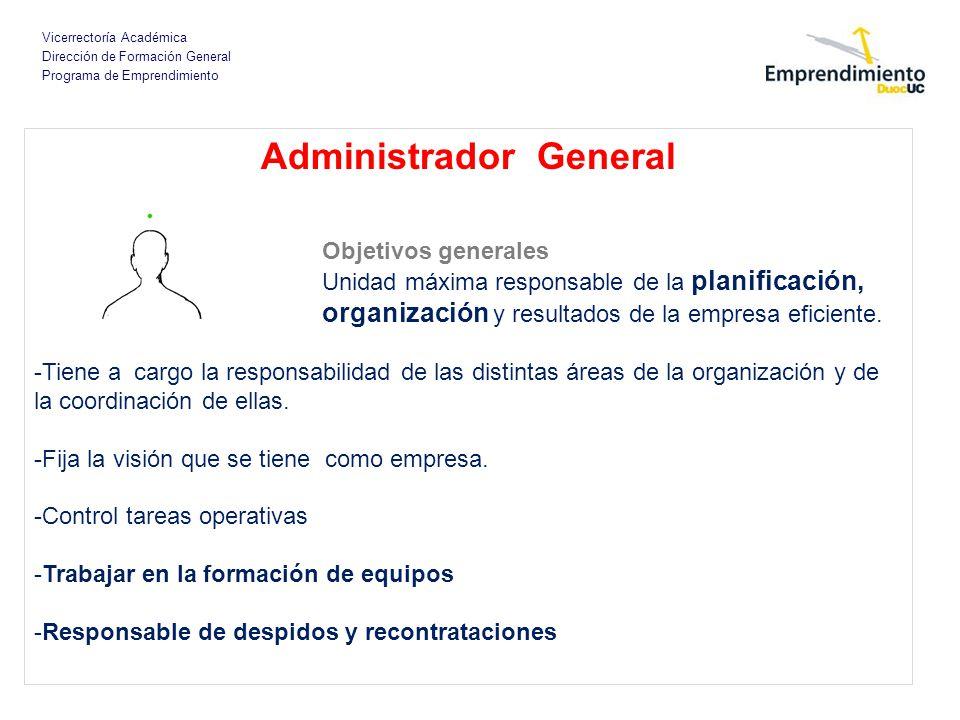 Administrador General