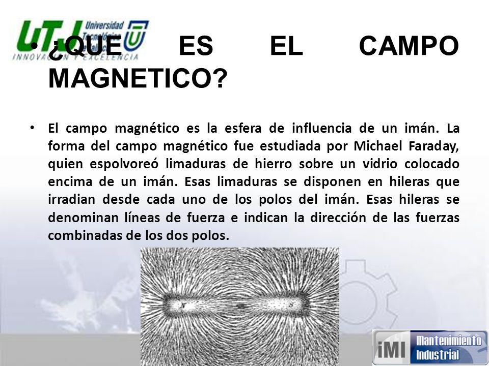 ¿QUE ES EL CAMPO MAGNETICO