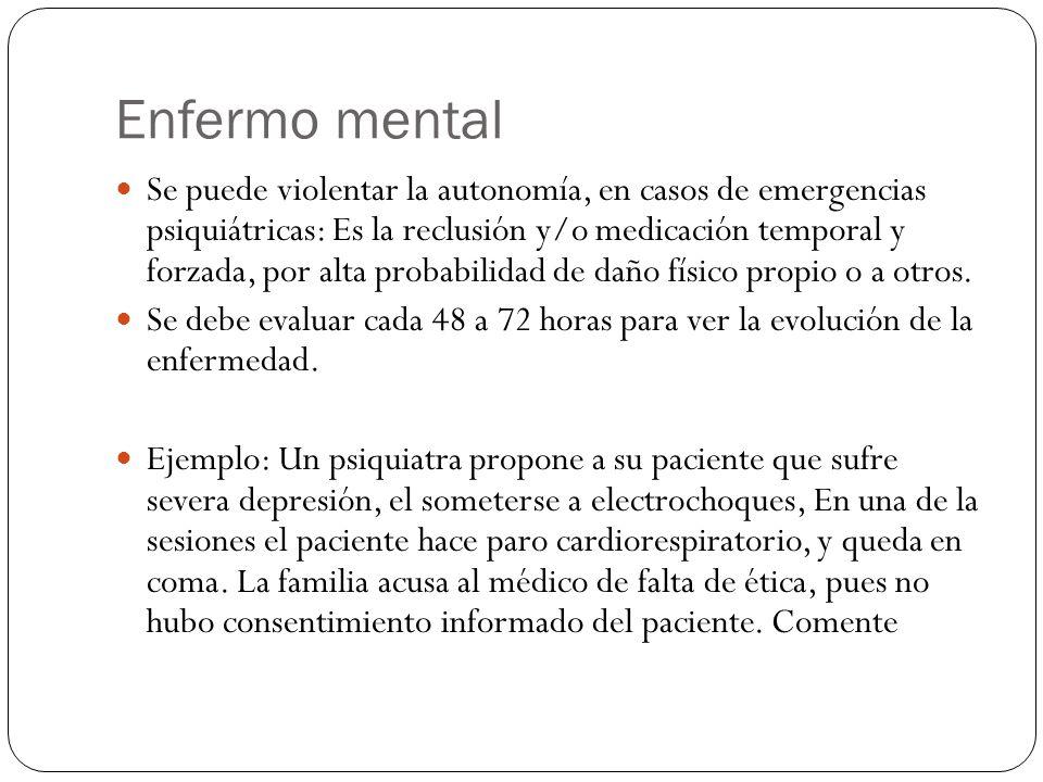 Enfermo mental