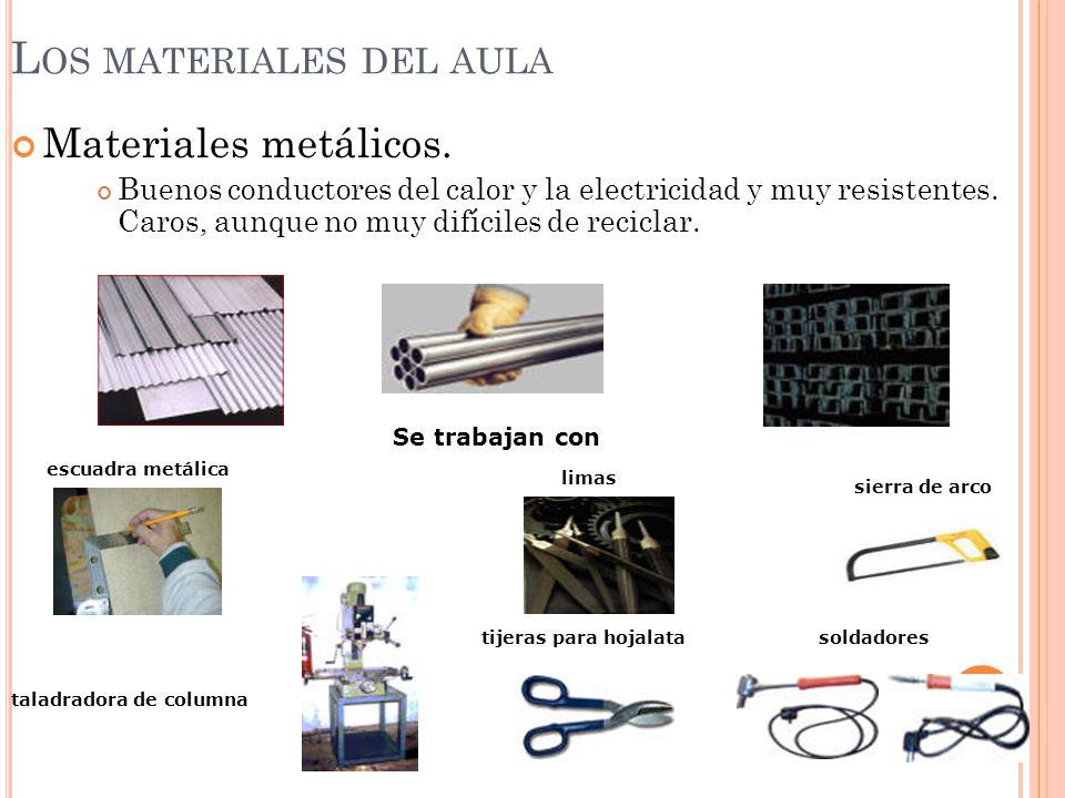 Los materiales ppt video online descargar - Materiales aislantes del calor ...