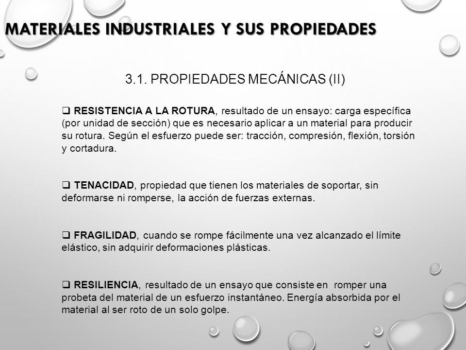 Materiales industriales y sus propiedades ppt video for Vajillas que no se rompen