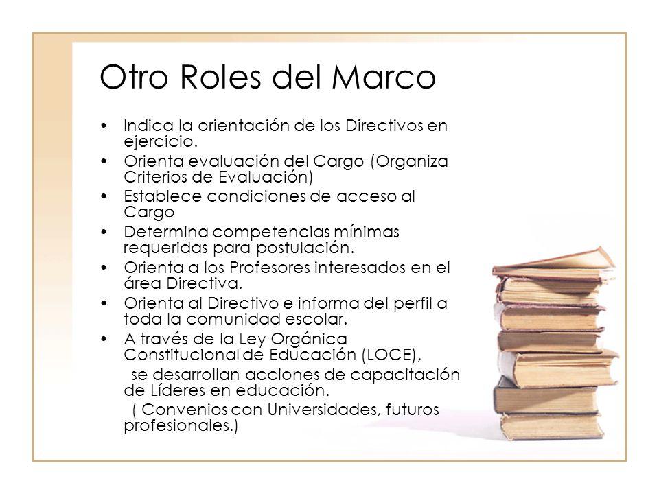 Gestión escolar Marcos referenciales para una buena gestión en los ...