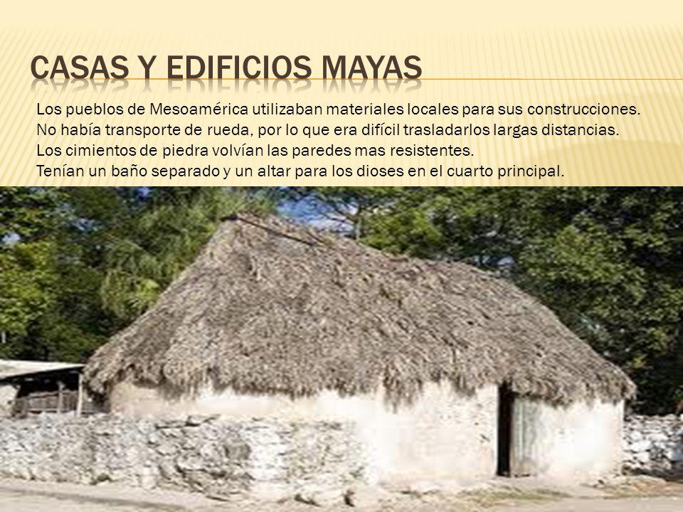 Casas y edificios mayas ppt descargar for Las construcciones de los mayas
