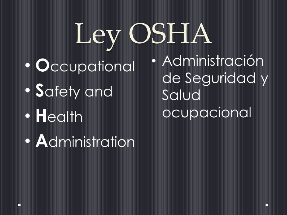 occuopotional safety and health administration osha About the commission the occupational safety and health review commission is an independent federal agency, providing administrative trial and appellate review, created to decide contests of citations or penalties resulting from osha inspections of american work places.