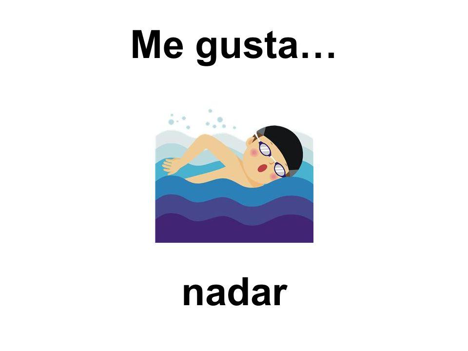 Me gusta… nadar