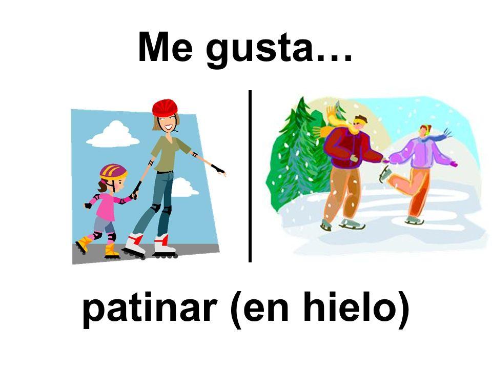 Me gusta… patinar (en hielo)