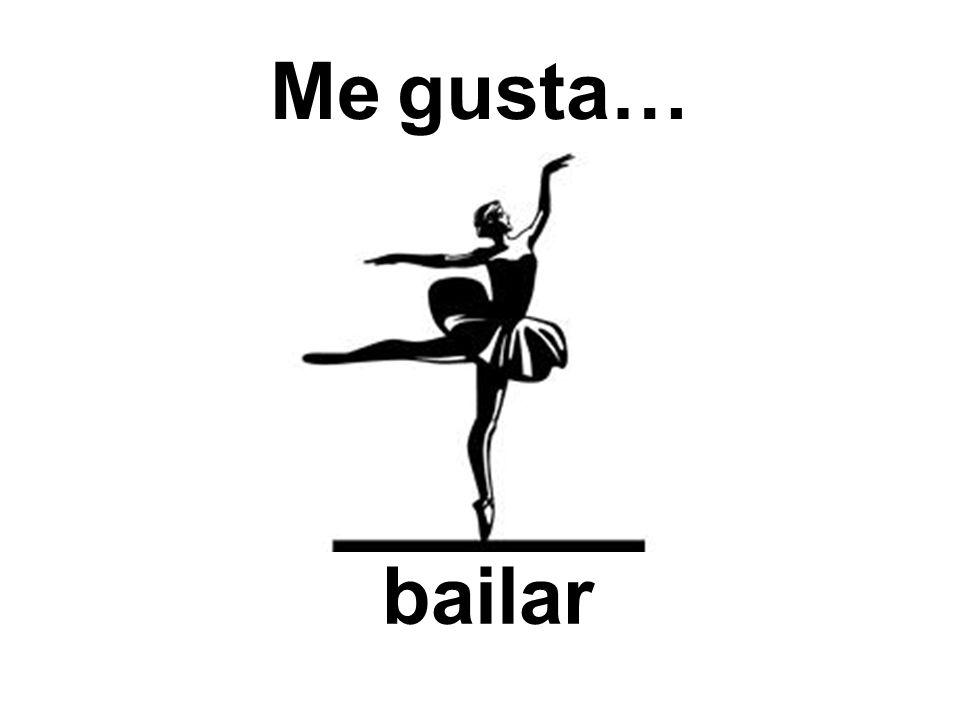 Me gusta… bailar