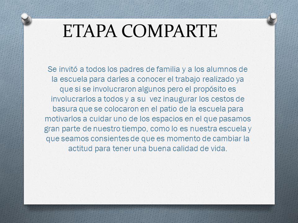 ETAPA COMPARTE