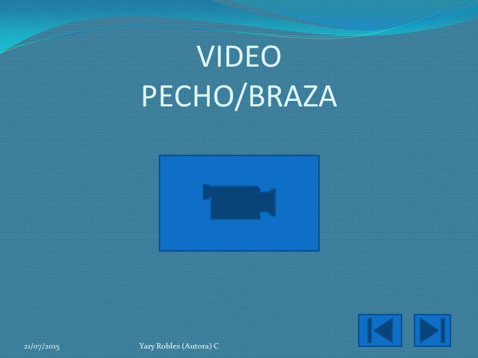 VIDEO PECHO/BRAZA 18/04/2017 Yary Robles (Autora) C