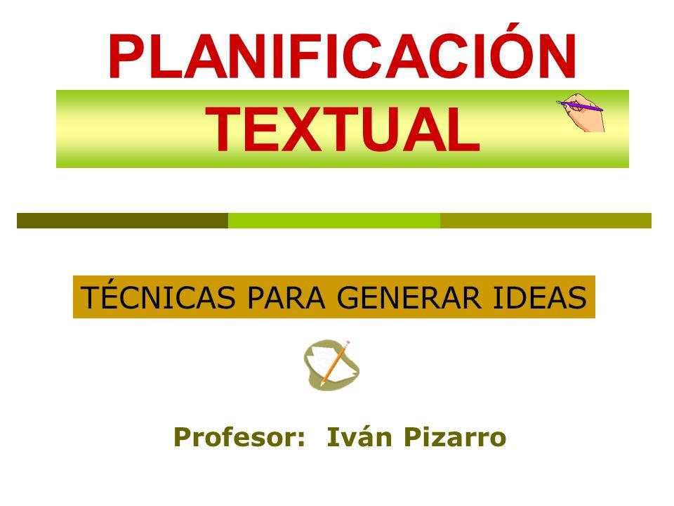 PLANIFICACIÓN TEXTUAL - ppt descargar