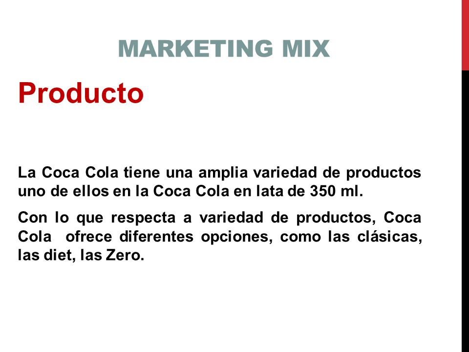 marketing mix of coca cola pdf
