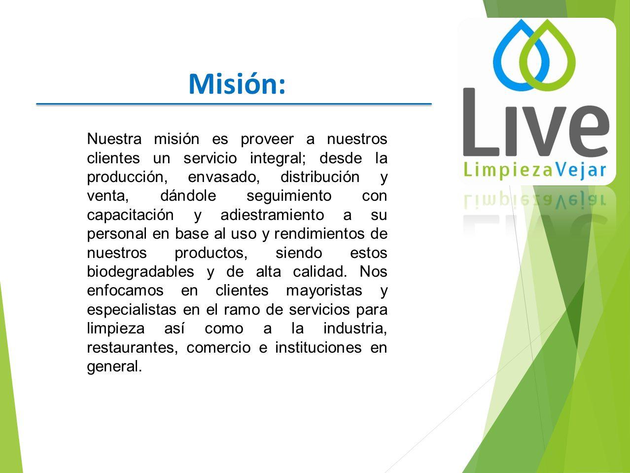 Quienes somos limpieza vejar es una empresa fundada en el for Empresas de limpieza en valencia que necesiten personal