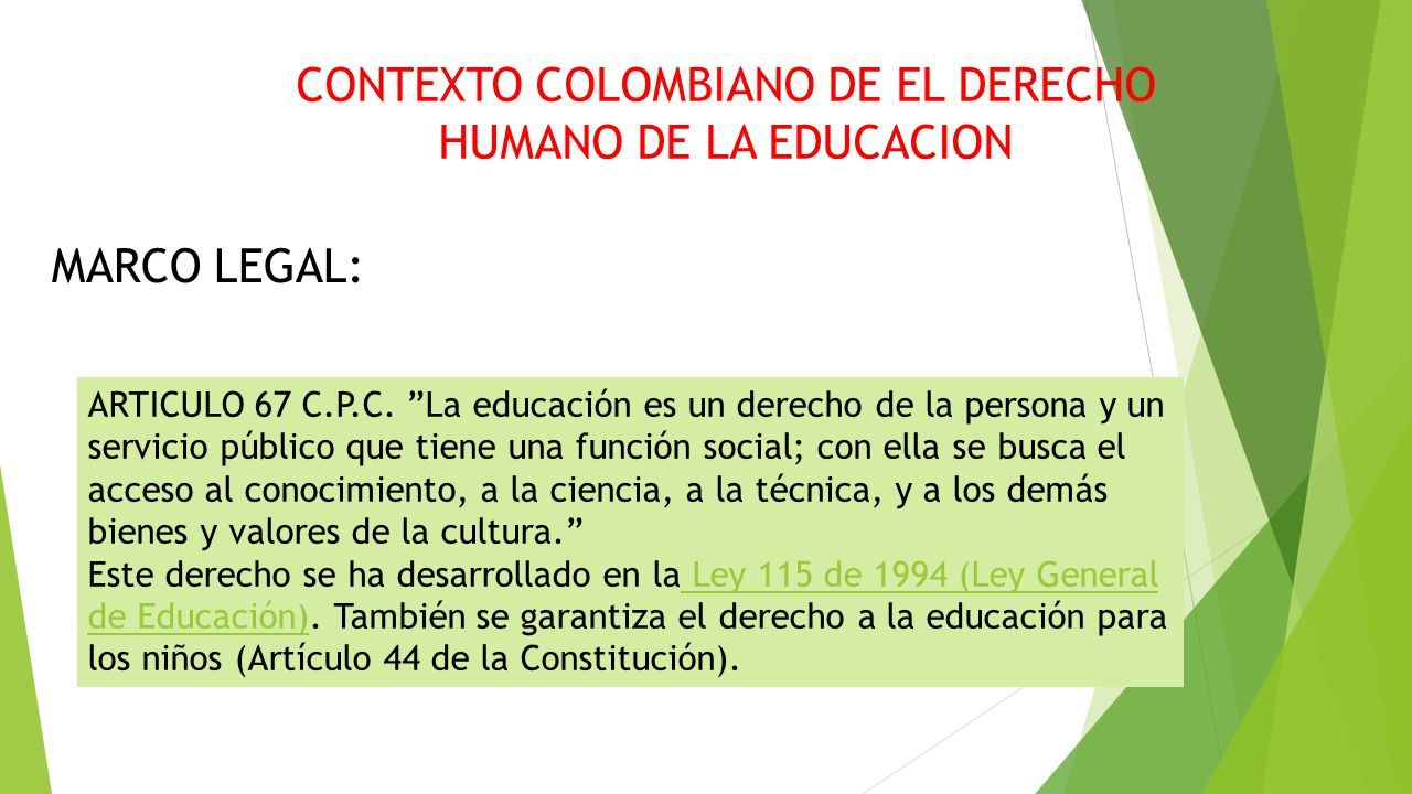 Derechos humanos y educaci n ppt descargar for Que es un articulo cultural o de espectaculos