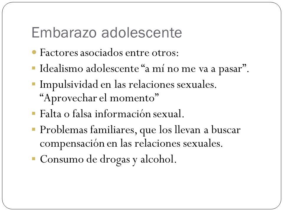 Problemas de sexualidad y embarazo adolescente