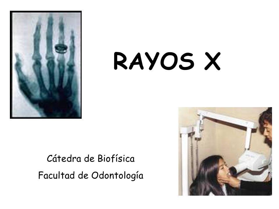 Facultad de odontolog a ppt descargar for Cuarto de rayos x odontologia