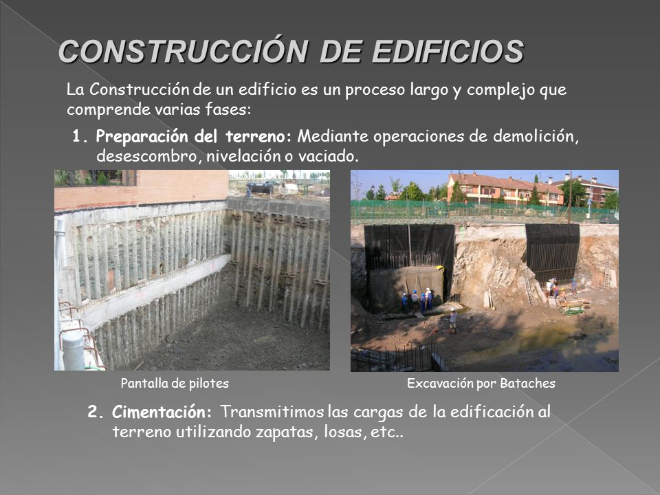 Tema 3 materiales para la construcci n ppt descargar for Videos de construccion de edificios
