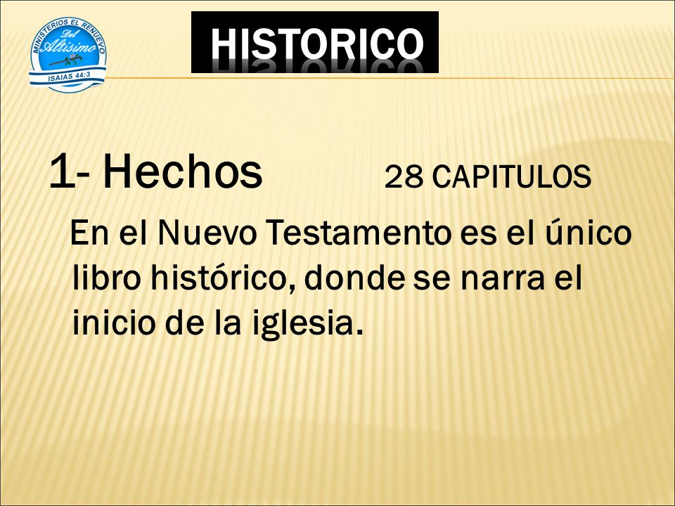 1- Hechos 28 CAPITULOS HISTORICO