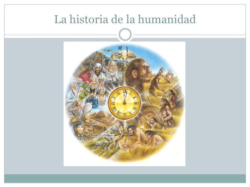 Resultado de imagen de La historia de la Humanidad