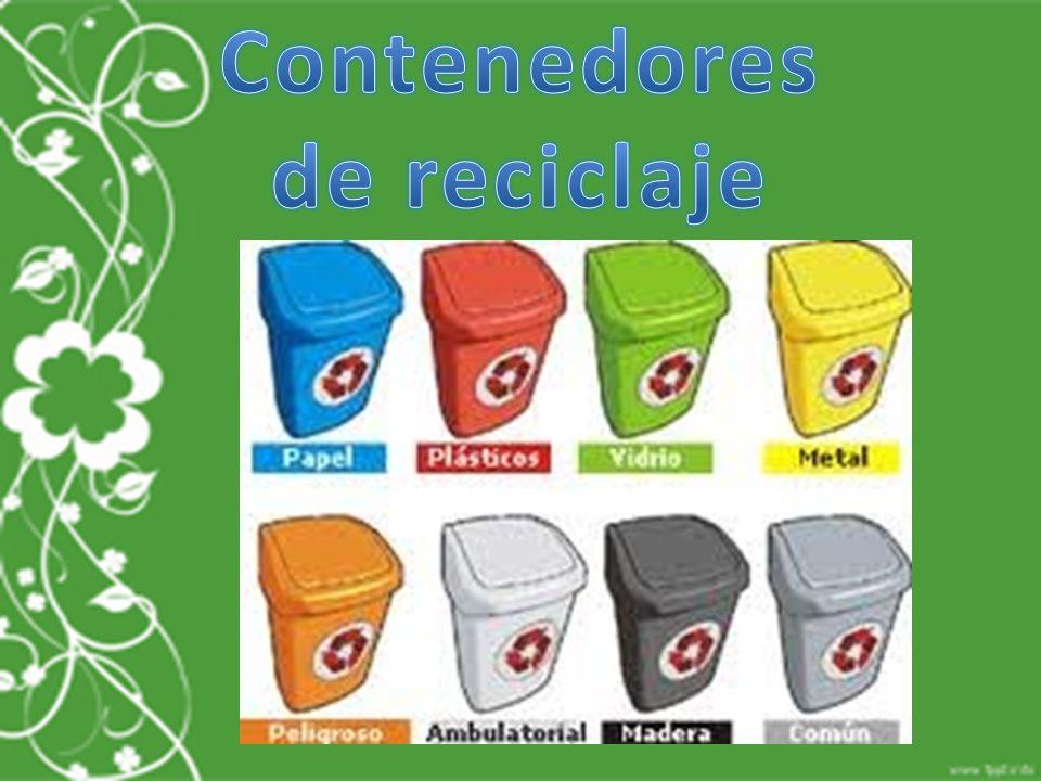 Reciclaje del aluminio escuela normal superior ppt descargar - Contenedores de reciclar ...
