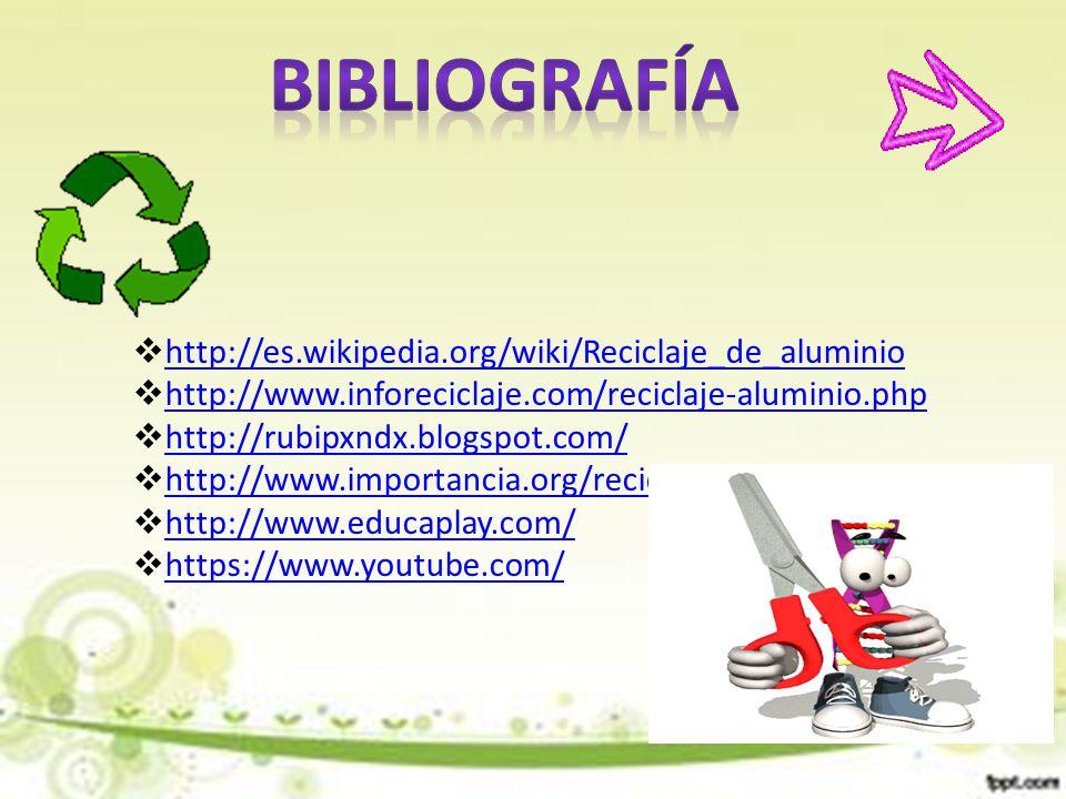 Reciclaje del aluminio escuela normal superior ppt descargar for Http wikipedia org wiki