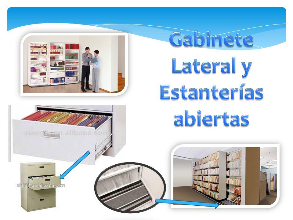 Organizaci n y recursos para el archivo de correspondencia for Disenar estanterias on line